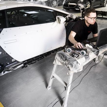 Lamborghini Is Forging Ahead with Forged Carbon Fiber; We Visit Their U.S.-Based Lab