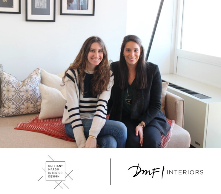 AptDeco's Staging Event: Brittany Marom and Deborah Fribourg