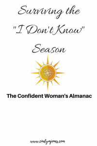 Cindy M Jones, The Confident Woman's Almanac