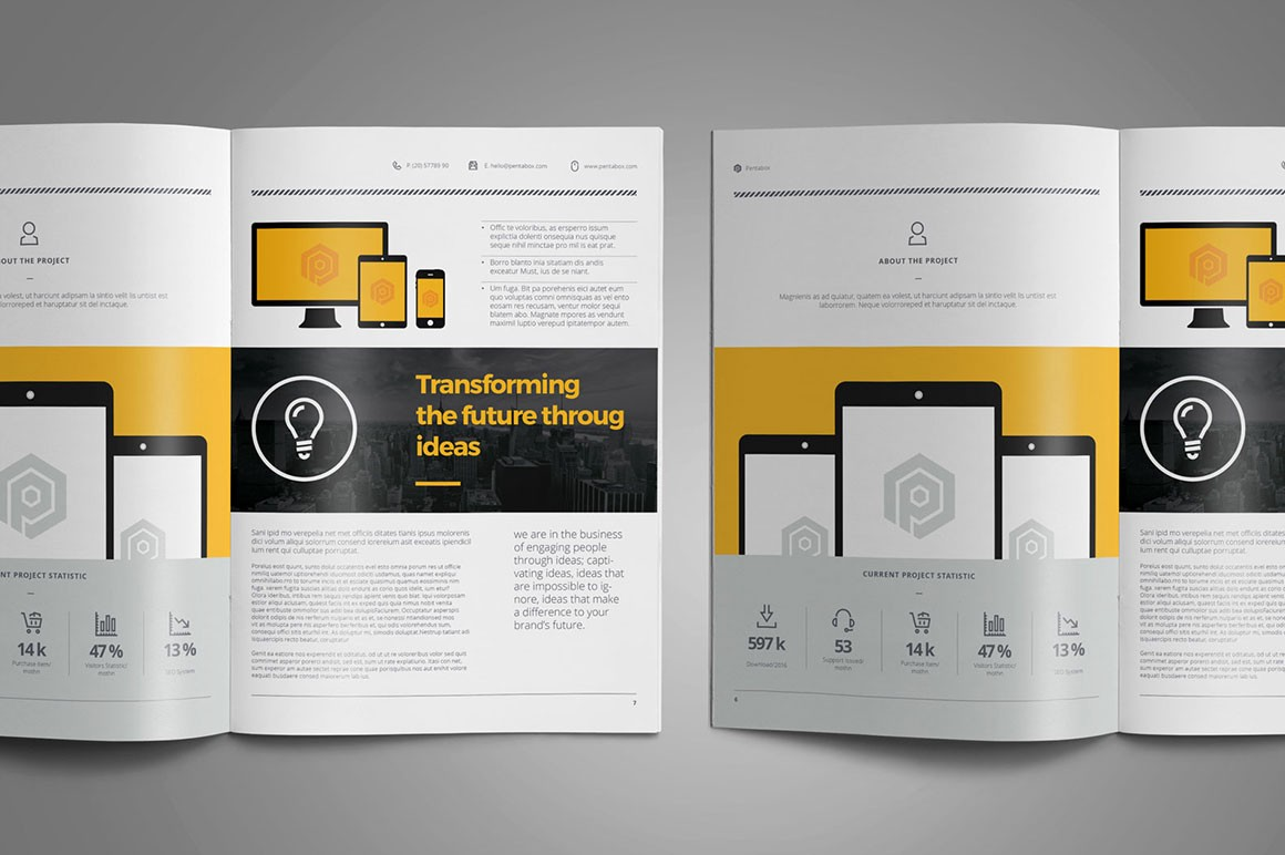 a sharp and professional free web design proposal template for creative businesses web designer web developper created in adobe indesign and photoshop