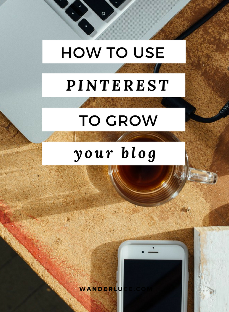 My super simple guide to using Pinterest to grow your blogs traffic, plus a FREE bonus PDF cheat sheet for you to print and keep!