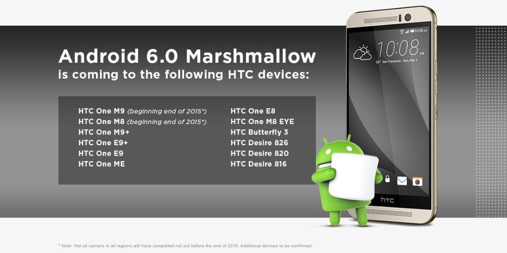 htc android 6 marshmallow