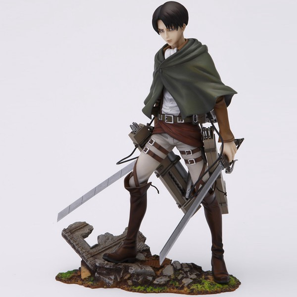 Levi Ackerman 1:8 BRAVE-ACT Figure by Sentinel