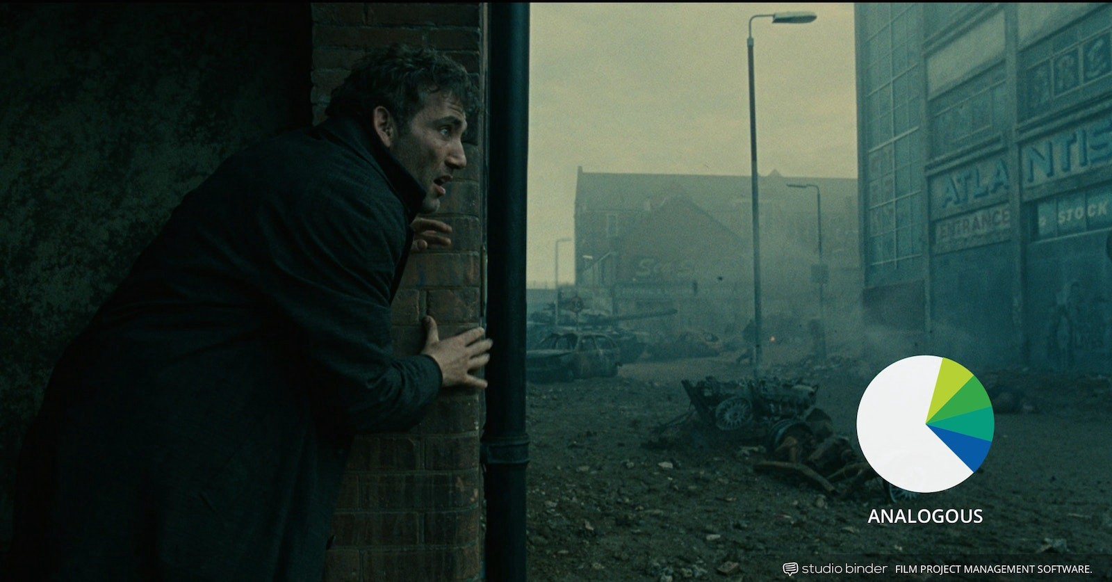 How to Use Color in Film – Example of Movie Color Palette and Schemes – Analogous – Children of Men2-min