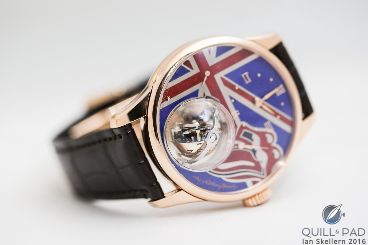 Zenith Christophe Colomb Tribute to The Rolling Stones