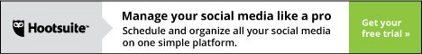 Hootsuite unique social media dashboard allows businesses to manage multiple social networks, identify their audience, analyze their social media campaigns.