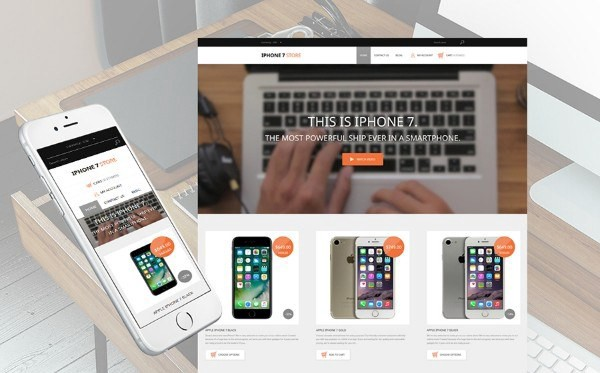 iPhone Mobile Phones Responsive Shopify Theme