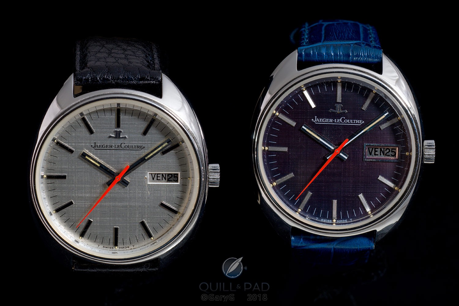 His and his turned into his and hers: a pair of prototype watches from Jaeger-LeCoultre