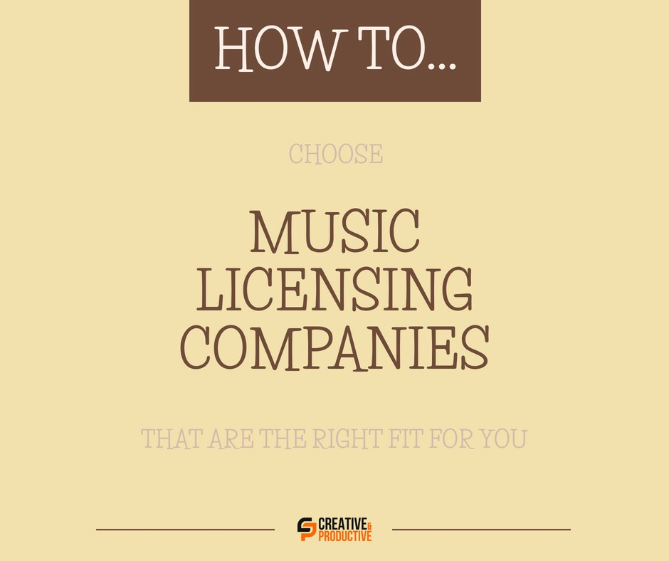 Choose Right Music Licensing Companies