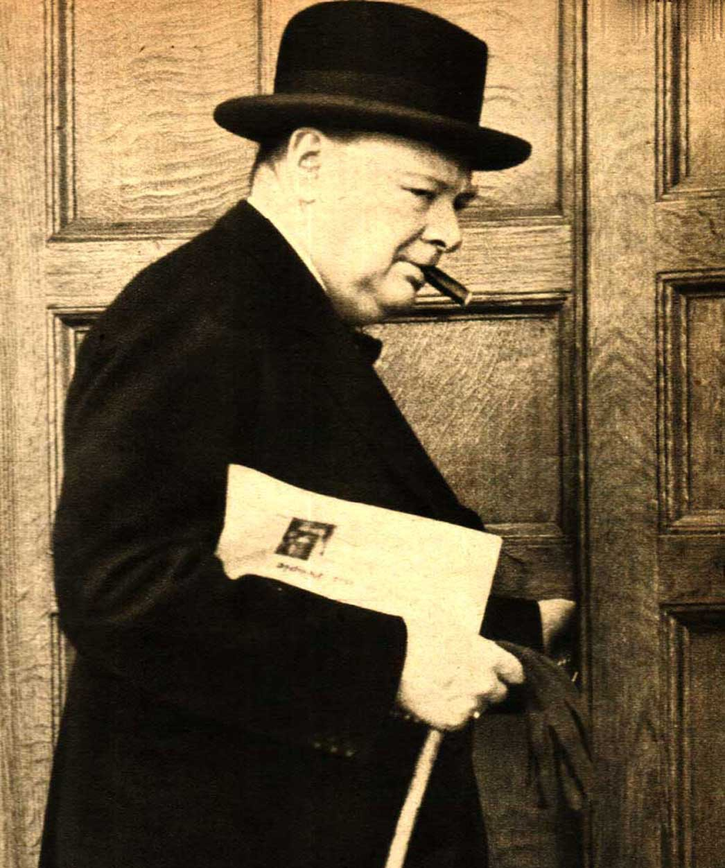 discourse analysis on winston churchill and