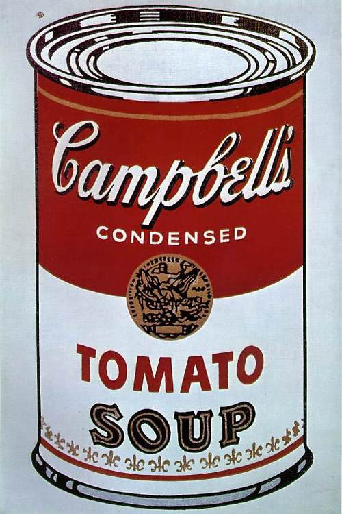 Andy Warhol, The Campbell's soup can