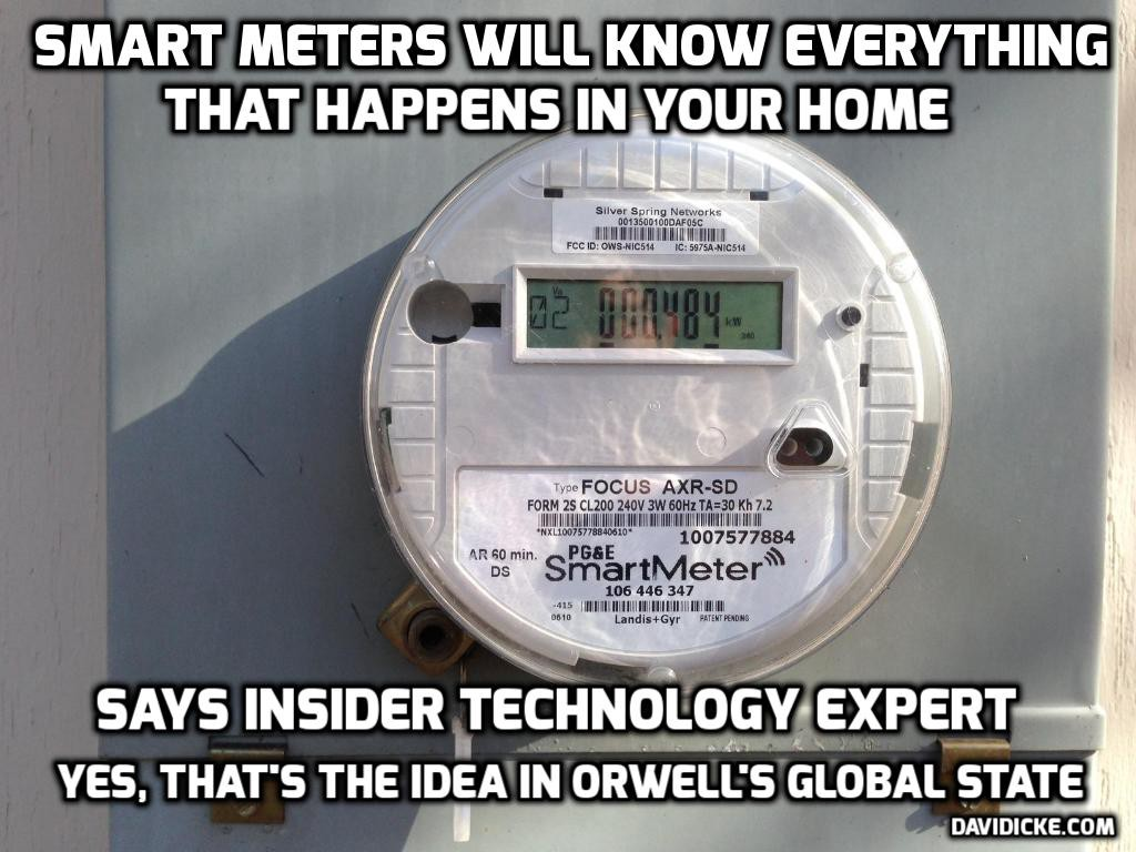 NSA Official Says Agency Looks to Exploit Internet of Things for Spying:  #smartmeter #Orwell