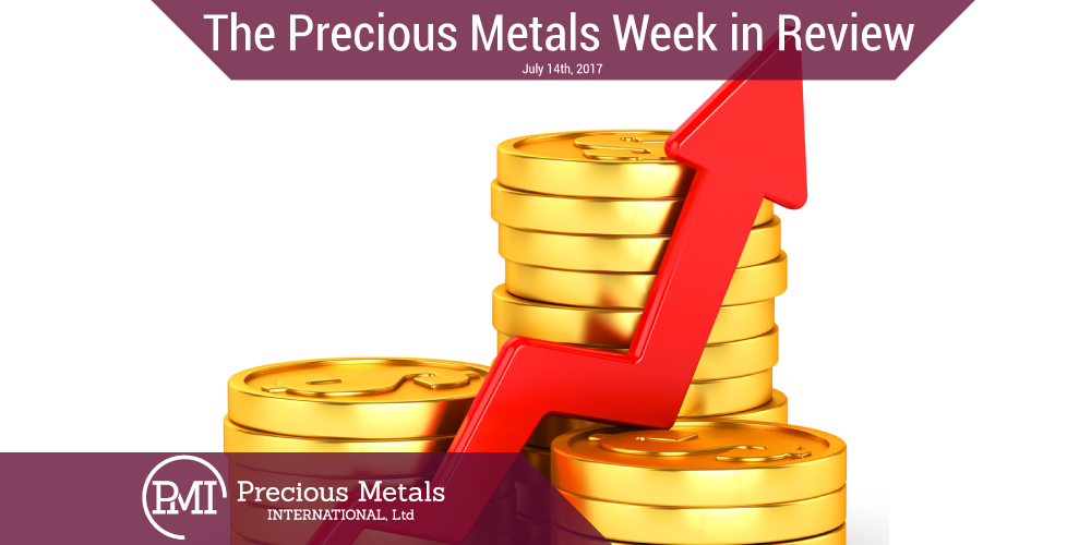 The Precious Metals Week In Review—July 14,2017
