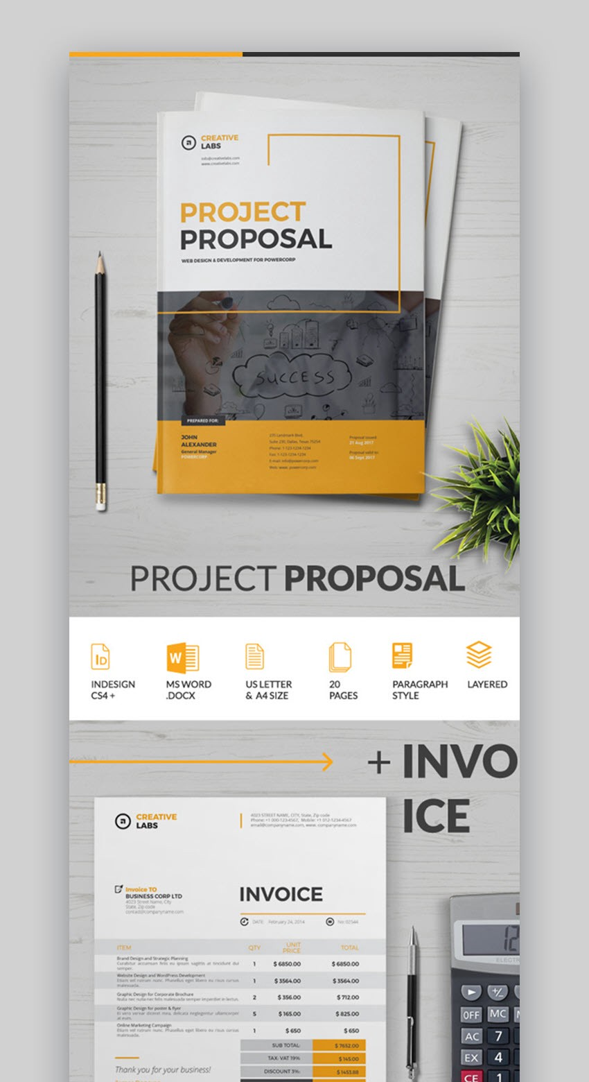 20 best proposal templates best digital themes medium simple proposal template with great organization wajeb