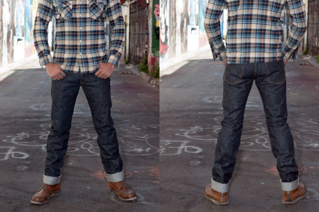 727 La Jolla fit front and back