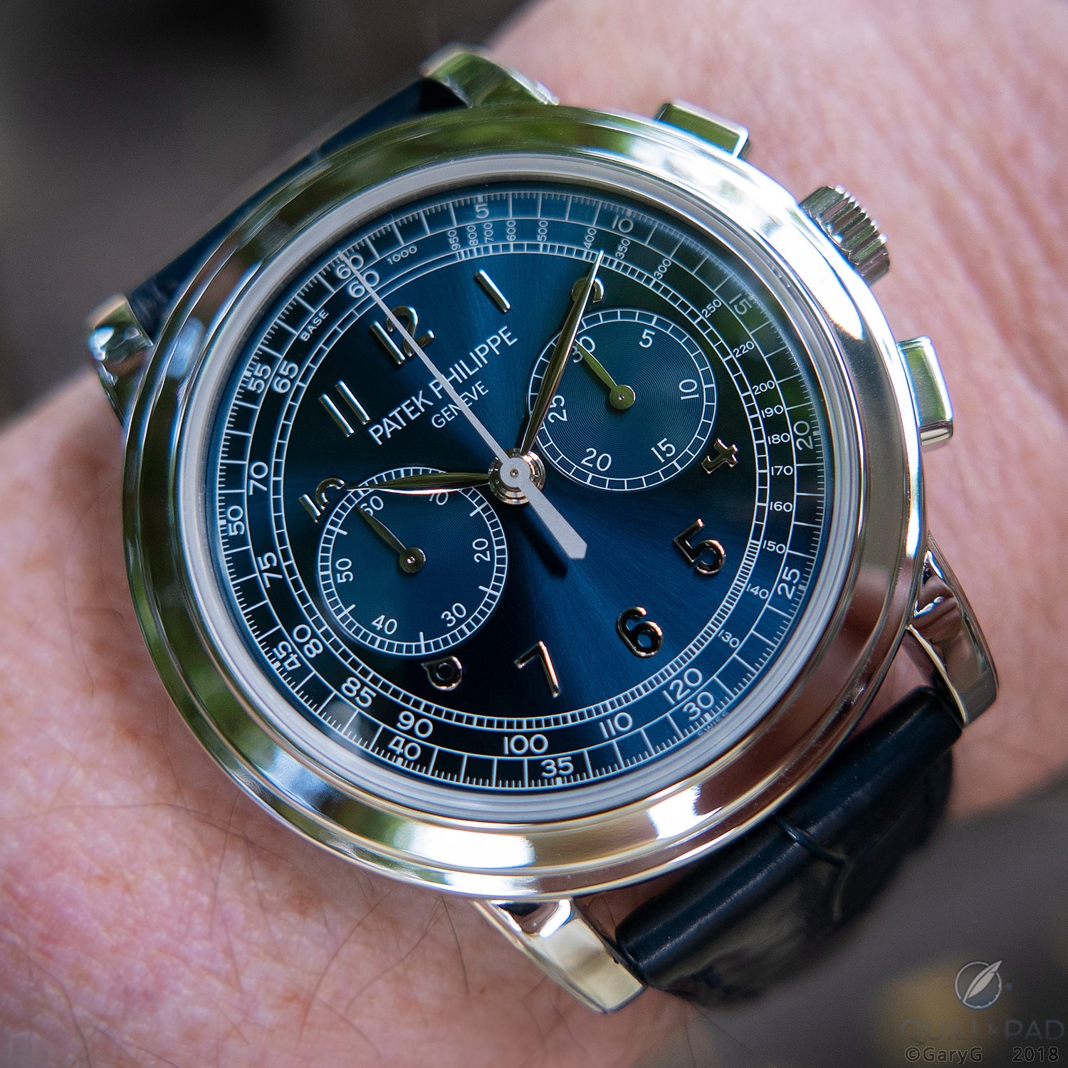 """On the wrist: Patek Philippe Reference 5070P-013 """"London"""""""