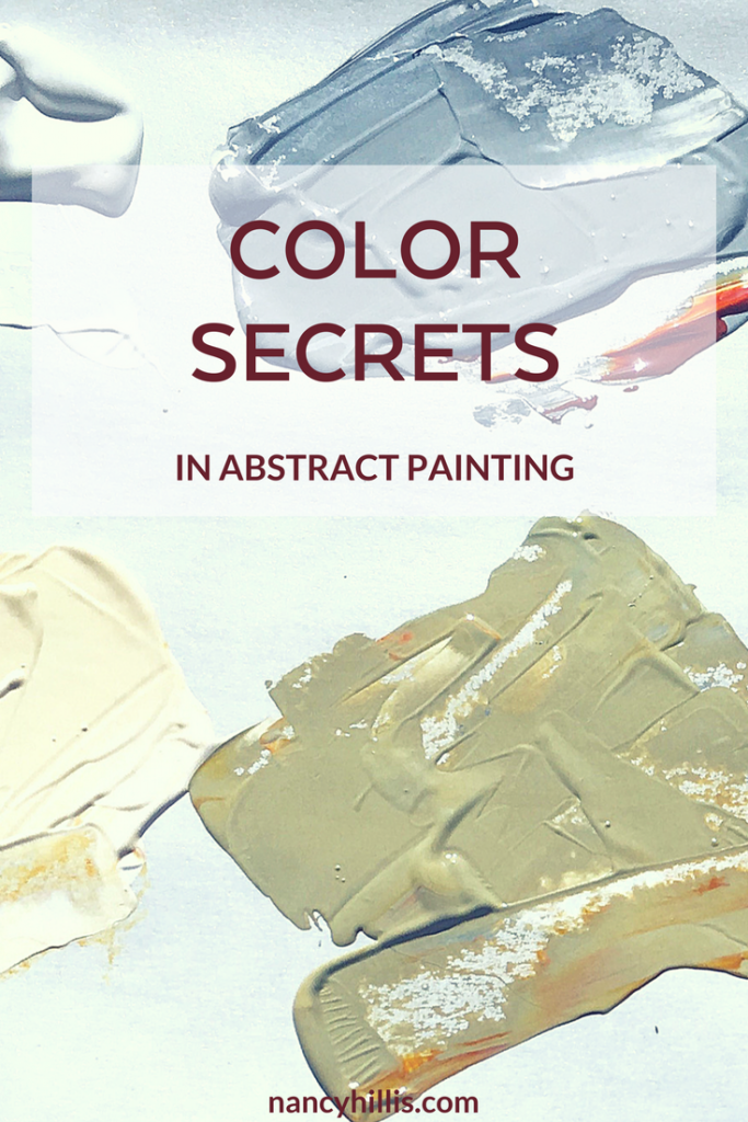 Color Secrets In Abstract Painting