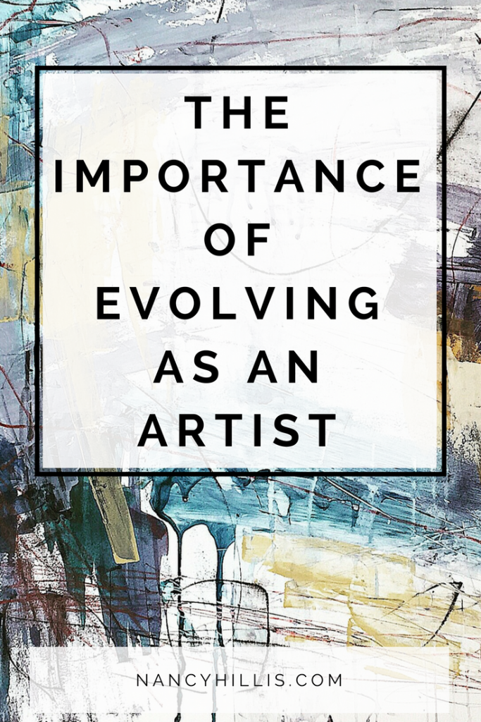 Artists Evolve Continuously