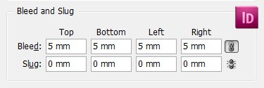 InDesign Document Settings