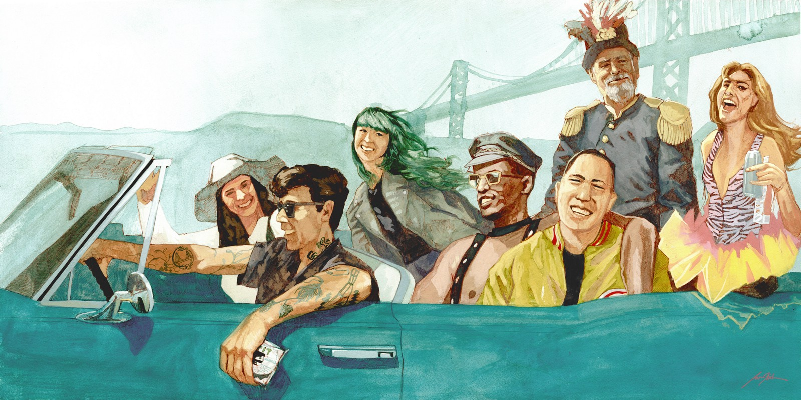 Living In San Francisco Means . . . (Redux For 2015). Illustrations By Jon  Stich. Living In San Francisco ...