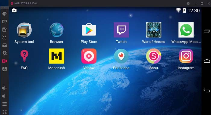 KoPlayer - Download 13 Best Android Emulators For Gamers And Developers Windows 7, 8 And 10