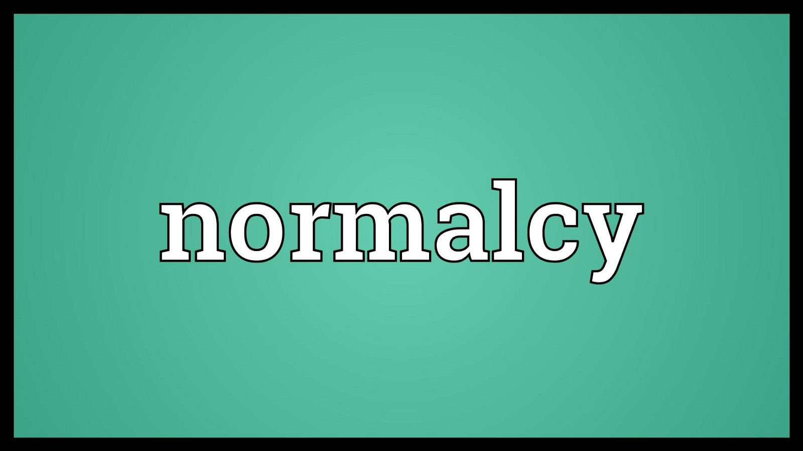 Normacy