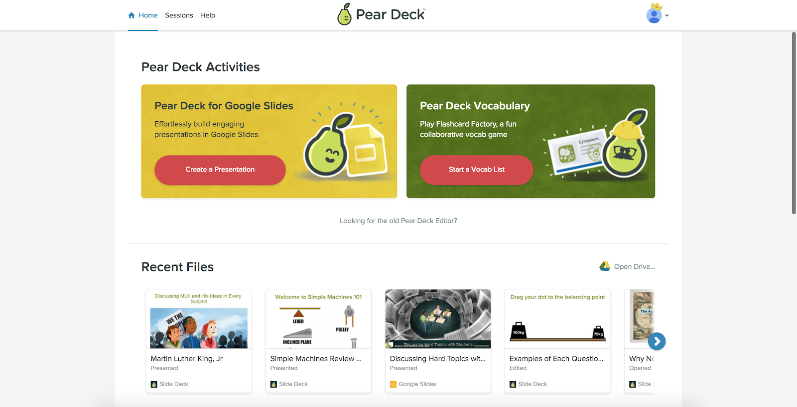 Introducing a Fresh New Look for Home! – Pear Deck – Medium