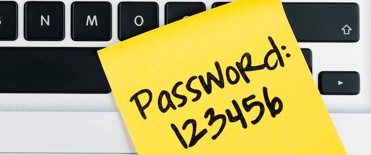 information security with passwords