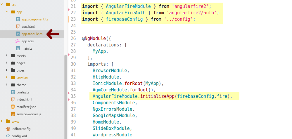 how to add attachment into firebase