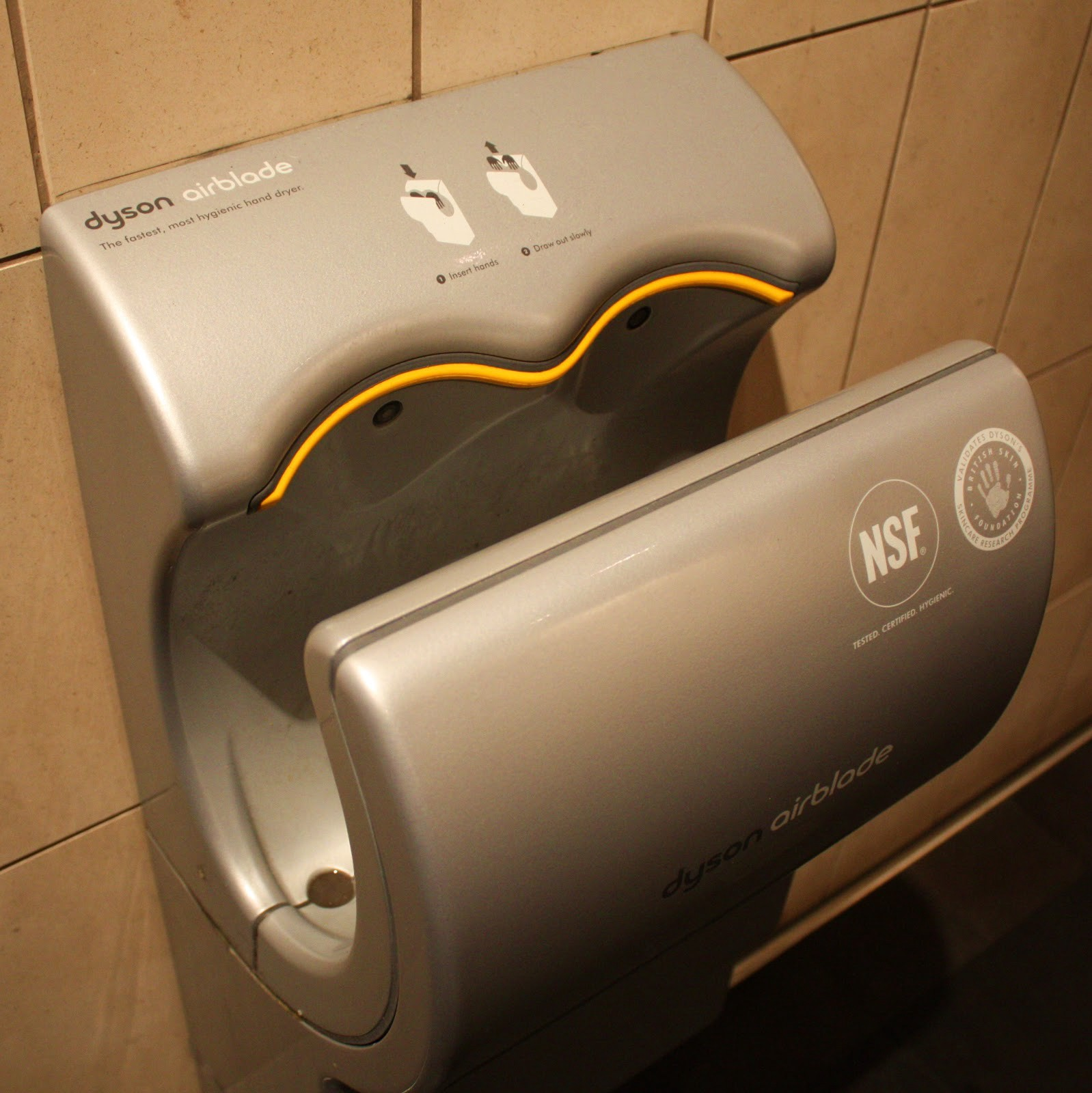 research published in 2009 by the university of westminster suggested hand dryers are not a hygienic way of drying hands their analysis of warm air dryers - Air Hand Dryers