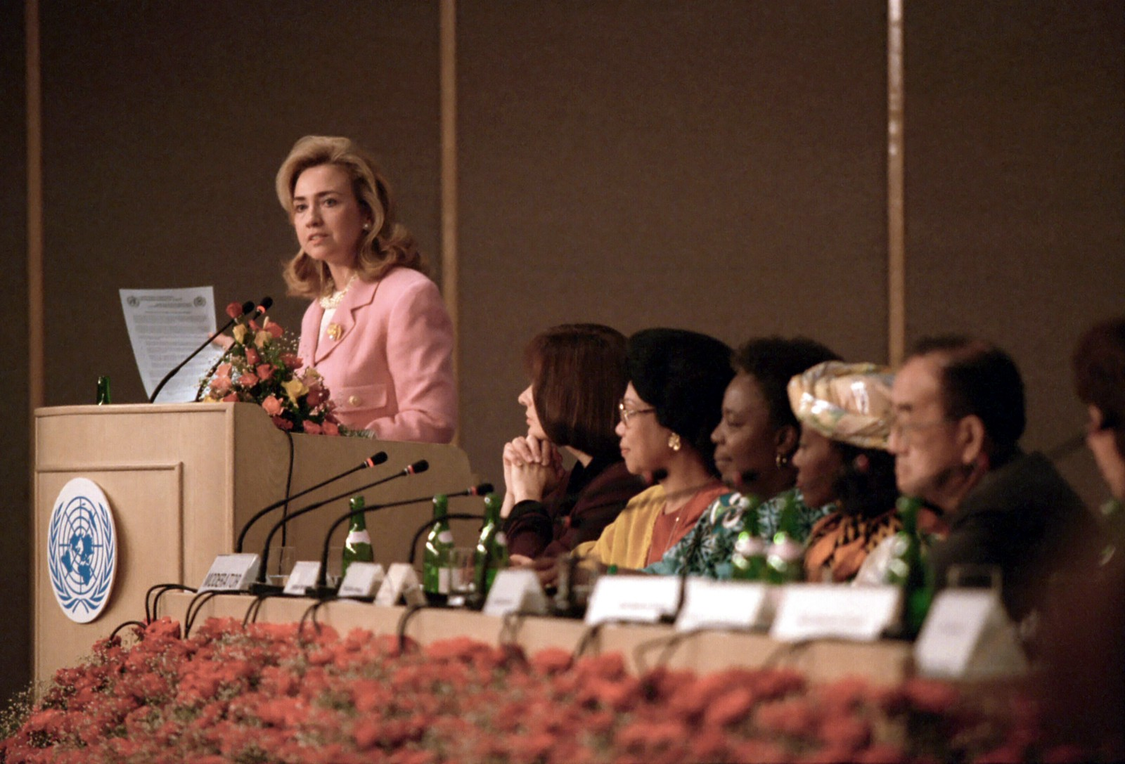 Hillary Rodham Clinton's Remarks: 1995 U.N. 4th World Conference on Women