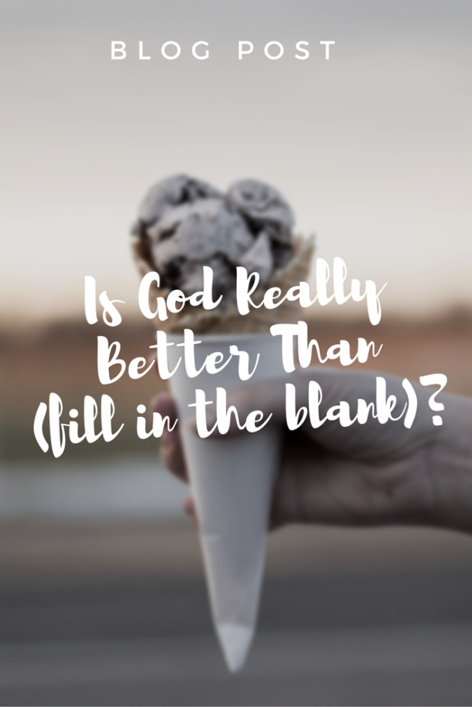 Blog Post | It's easy to become distracted, losing sight of and trust in God and His goodness. But we can refocus with this simple question.