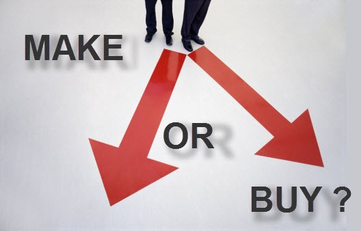 outsourcing and make or buy decisions Global companies struggle with decisions on how much to outsource too little means an organization may lose the pricing advantages that can come with using competitive providers worldwide.