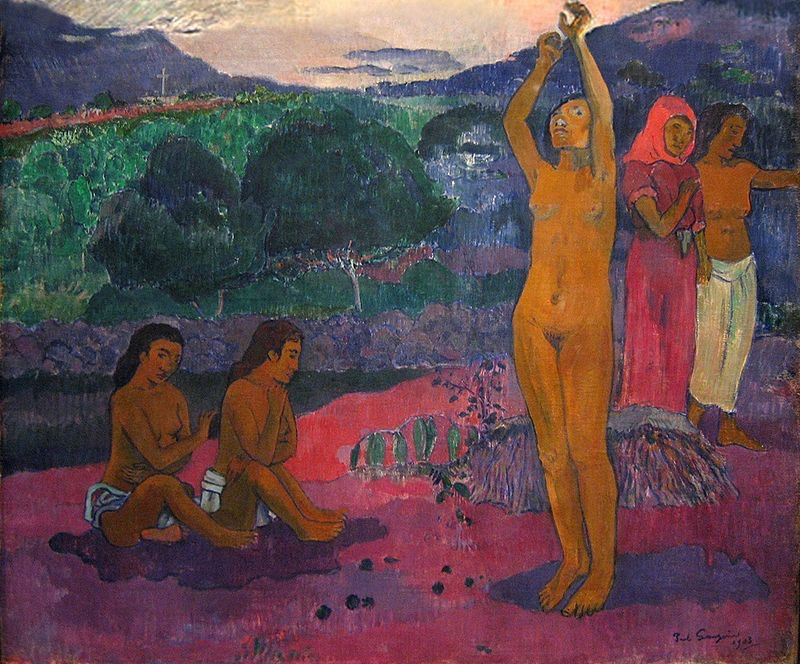 Paul Gauguin, The Invocation