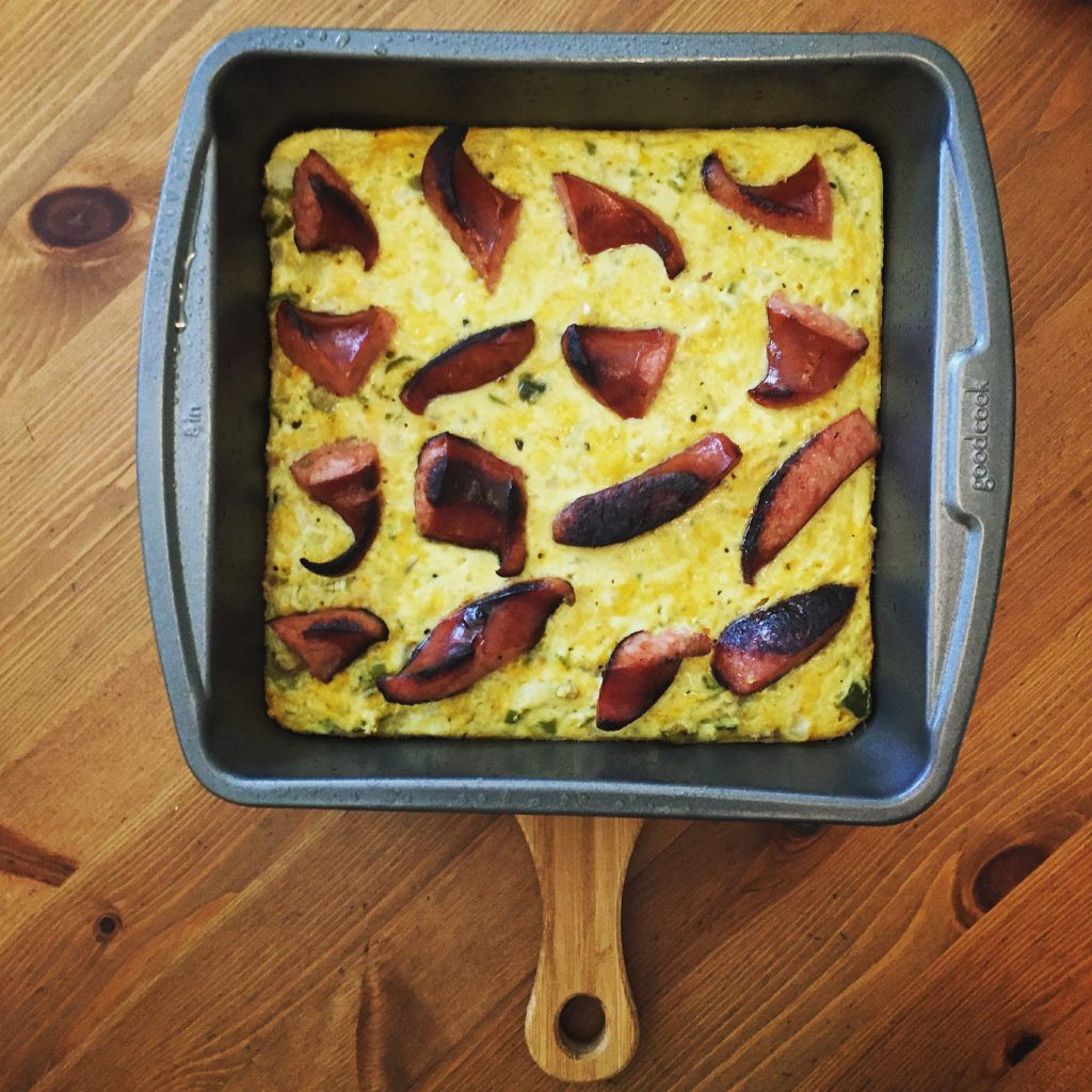 Spicy Olive & Cheese Squares - with diced bell peppers and jalapeños