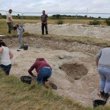 A huge wooden circle has been found buried just a few kilometres from Stonehenge