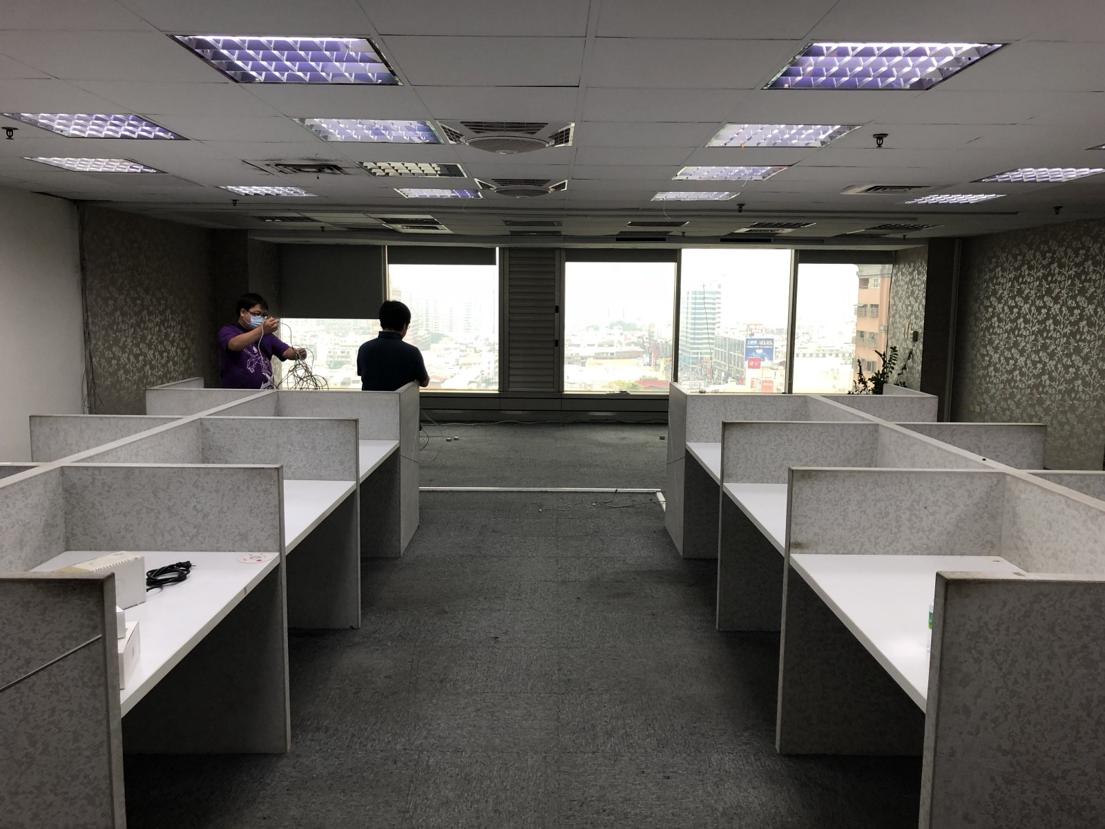 Saying good-bye to our old office!