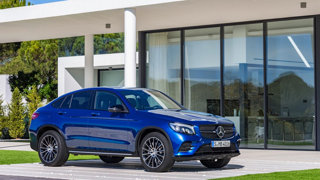 Mercedes GLC Coupe 2017