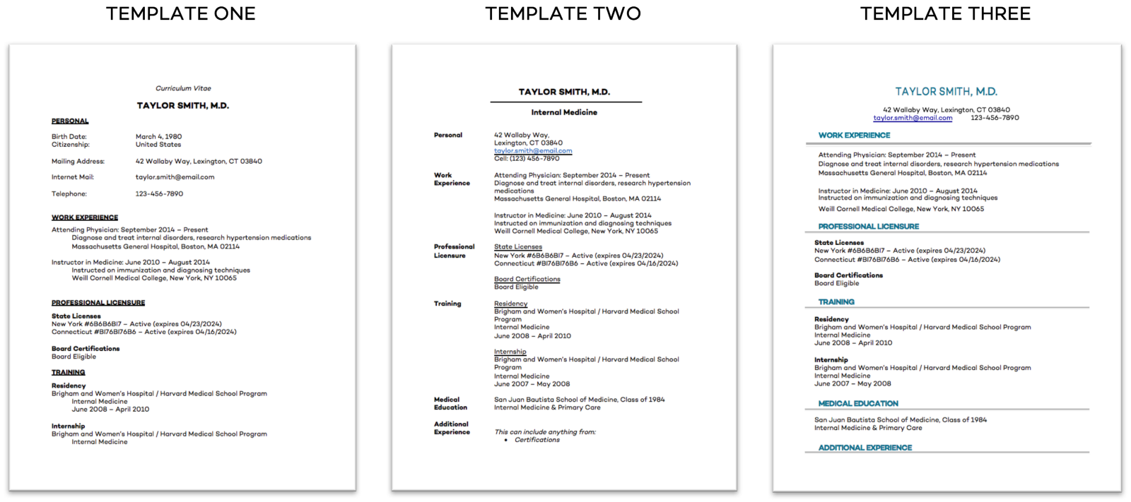 Top 7 Doctor Resume Best Practices + Free Templates!