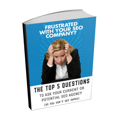 Frustrated With Your SEO Company