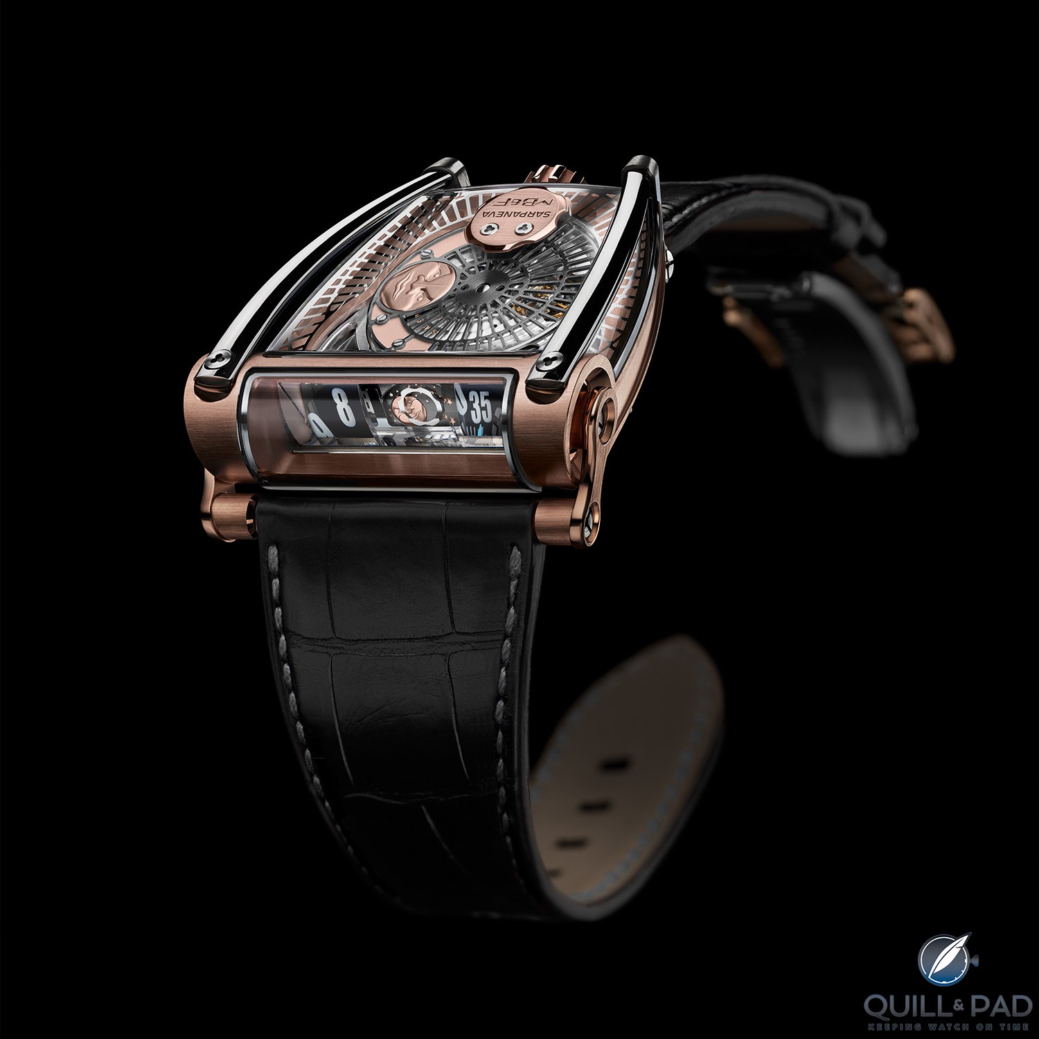 MoonMachine 2 by MB&F with Stepan Sarpaneva in red gold