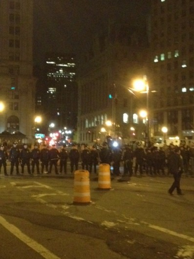 Surprise Police Raid Wipes Out Zuccotti Park, Police Violence Rattles