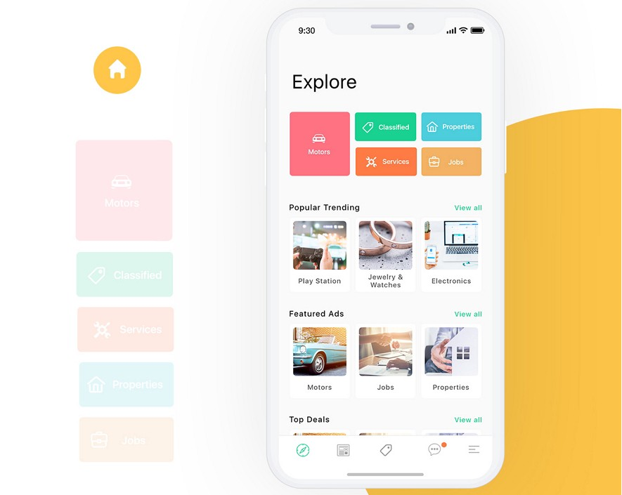 Home Design Ideas App: 10 Latest Mobile App Interface Designs For Your Inspiration