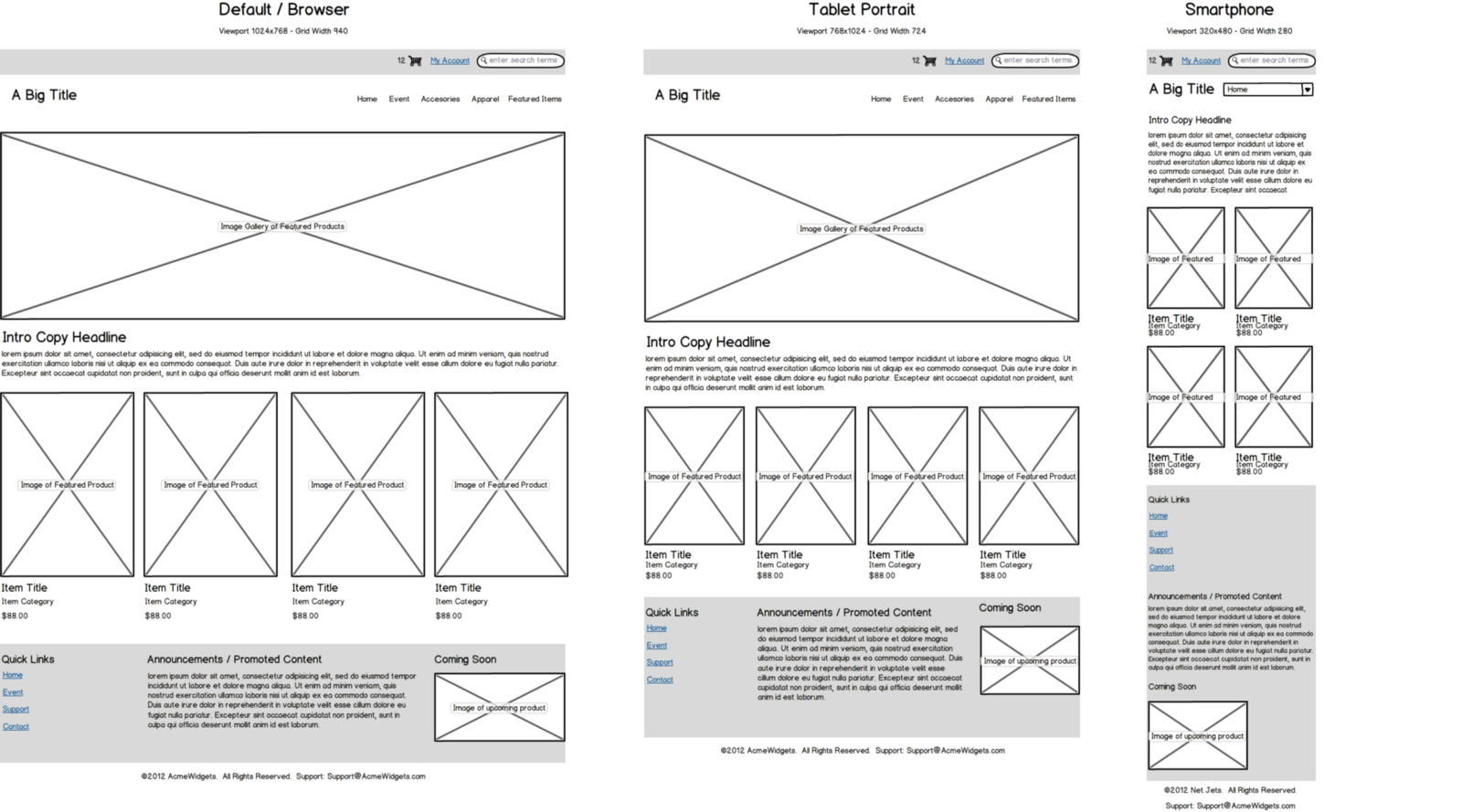Basic UI/UX Design Concept Difference Between Wireframe, Prototype