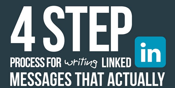 4 Step Process for Writing LinkedIn Messages That Actually Get Read