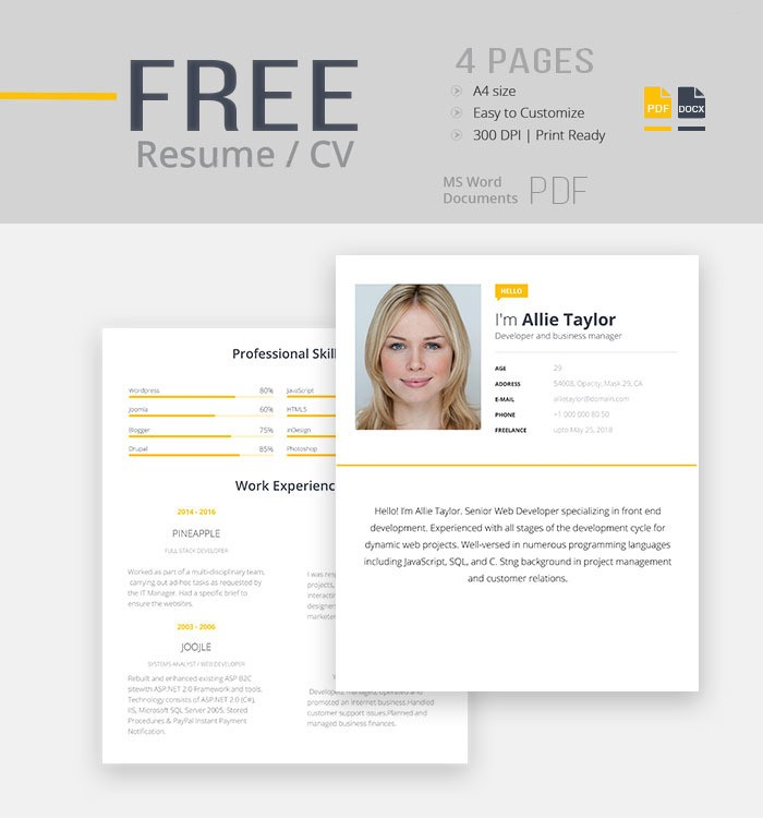 upgrade your cv with these free templates and websites
