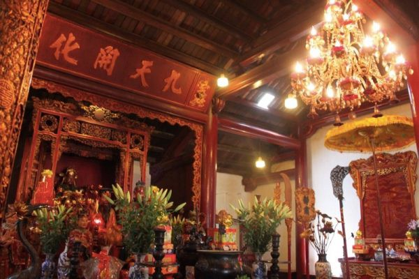 Hanoi Ngon Son Temple Photo by Paige from For the Love of Wanderlust