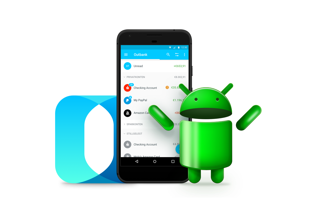 outbank erweitert banking app um android outbank deutschland medium. Black Bedroom Furniture Sets. Home Design Ideas