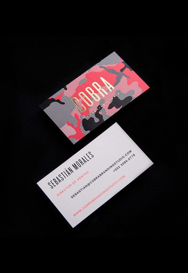 30 Beautiful Business Card Designs – From up North