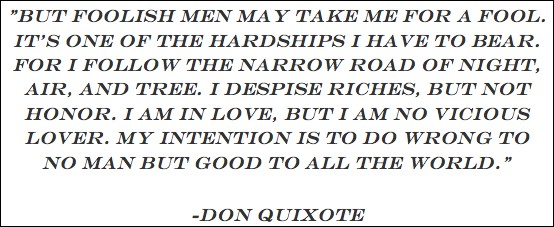 Modern Leadership Lessons From Don Quixote Rob Peters Medium